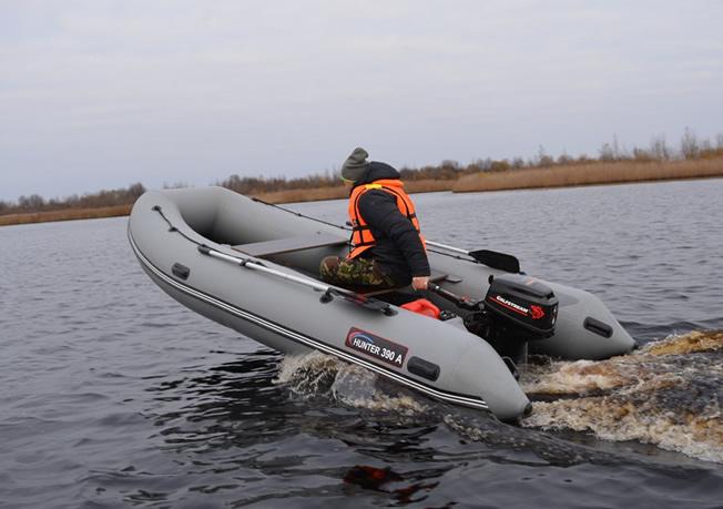 лодка хантер