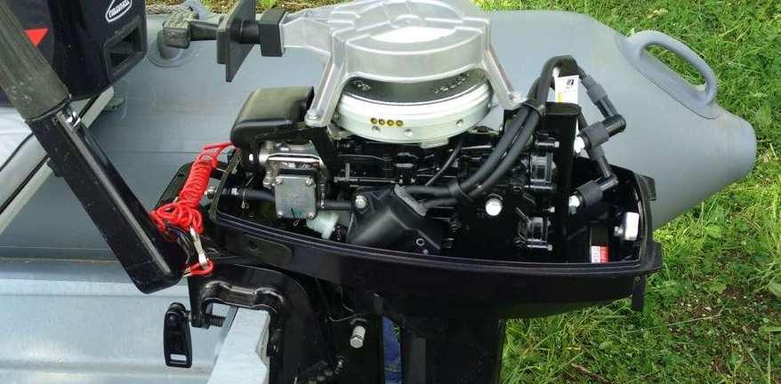 Лодочный мотор Tohatsu M9.8B