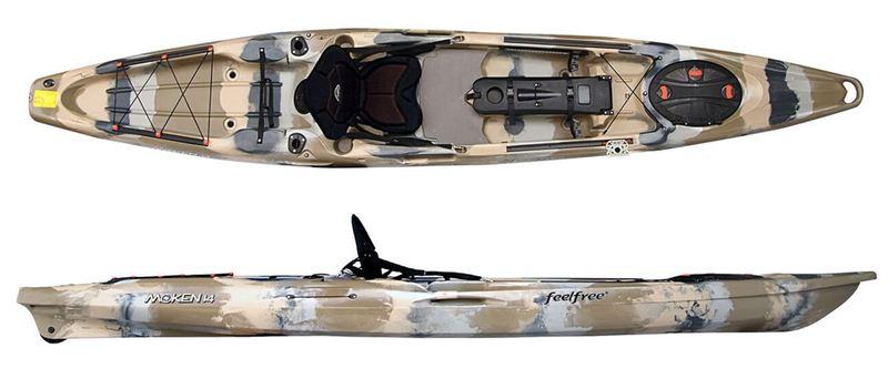 FeelFree Moken 14 Angler/Rudder